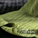Polyester 50d Striped nachgemachtes Silk Gewebe für Sommer-Kleider