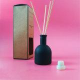 Fragrância preta Diffusor do perfume do frasco no vaso de vidro