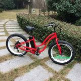 """最も遅く26 """"流行のアルミ合金フレームの雪山500Wの電気バイク"""