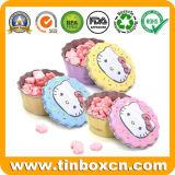 Kuchen-Form-Zinn-Metallkasten für tadellose Süßigkeit-Bonbon-Konfektionsartikel