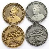 Personalizar barata adorables nombres de bodas de oro blanco de latón Antiqu monedas