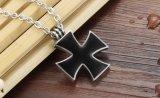 De nieuwe Halsbanden van het Staal van het Titanium van de Aankomst vormen de Zwarte Koele Gift van de Halsbanden van Mens van de Bloem van Kruisvaarders
