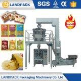 Empaquetadora de pesaje automática de las patatas fritas del bocado del precio bajo pequeña