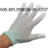ESD de Palm van het Polyurethaan van Handschoenen voor het Werk en Behandeling met een laag die wordt bedekt die