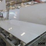 20mm branco puro concebido grande laje de pedra Quartz