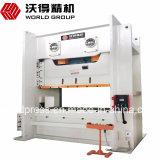 Aço inoxidável Jw36 500ton prensa elétrica mecânica chapa metálica Máquina de perfuração