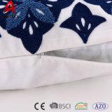 Ammortizzatore all'ingrosso del cotone del ricamo del punto Chain della tela di canapa di alta qualità