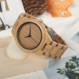 Manera Wholesale&#160 de ODM/OEM; Wooden  Cuarzo Men's&#160 del reloj; Wooden  Reloj