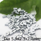 우수한 Quanity 기계설비 자석 크기 5.9X2.3X2.7mm를 입히는 니켈