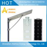 Recargable de 20 W de luz solar calle con EMC RoHS aprobado CE