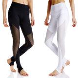 Usura di yoga dei pantaloni di forma fisica di yoga di Legging delle donne di colore
