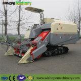 Gran potencia del motor Cosechadora con depósito de grano pequeño