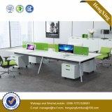 大きいサイズの木のオフィス用家具のコンピュータ表のオフィスワークステーション(HX-NJ5083)