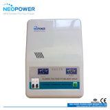 Stabilisateur 10kVA de tension de pouvoir avec le mètre de courant de voltmètre de DEL