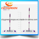 Mop пола Microfiber супер абсорбциы складной плоский