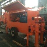 Schaumgummi-Betonstein, der hydraulische Betonpumpe wirft