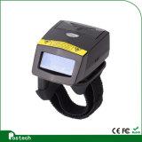 Anillo de dedo Fs01 escáner de códigos de barras láser de logística de almacén mediante escáner de códigos de barras
