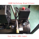 компрессорного масла воздуха 1400W 24L компрессор воздуха винта молчком свободно