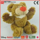 Urso macio da peluche do brinquedo do luxuoso do animal enchido do presente da promoção