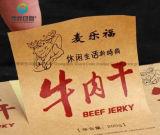 Het etiket van het Voedsel van de Stickers van het Document van Kraftpapier van de douane