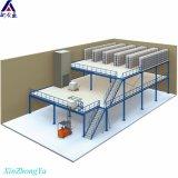 Mezanino garantido seguro da alta qualidade do armazém de armazenamento