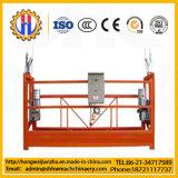 Zlp630 het Elektrische Tijdelijke Opgeschorte Platform van het Aluminium voor de Bouw van het Schoonmaken