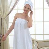 昇進のホテル/ホーム女性Microfiber/綿の浴室の服/スカート
