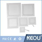 Алюминиевый корпус 6W 480 лм панель светодиодные потолочные светильники для спальни