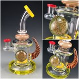 Los productos de artesanía Bontek Pipa de Agua de cristal con el tazón de vidrio.