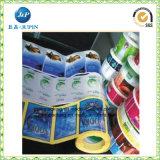 서비스 스티커 (jp s200)를 인쇄하는 PVC 서류상 관심 방수 투명한 주문 레이블
