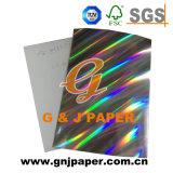 für dekorativen metallisierten Holomgram Karton
