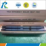3mm épais Solaire tube à vide avec 125mm de diamètre pour l'Afrique du Sud