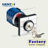 Interruptor rotatorio del selector de la serie Lw26 de la leva eléctrica automática del cambio