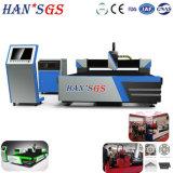 Новый дизайн и новые функции 2200W Ханс GS волокна лазерная резка машины