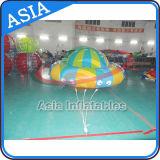 Barca di galleggiamento gonfiabile della discoteca, gioco trainabile gonfiabile dell'acqua