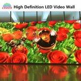 P3.91屋内HDレンタルLEDのビデオスクリーンの移動可能なLED表示壁