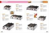 アイスクリームのための1台のTaiyakiの魚肉練り製品機械に付き6台