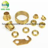 Insert fileté de précision CNC personnalisés/tube en laiton d'usinage de pièces de cuivre