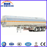 de petroleiro 50cbm do caminhão reboque Fuel Oil de alumínio Semi
