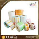 Colores de alta calidad de la etiqueta de transferencia térmica con tamaño personalizado
