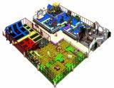 Популярные пользовательские Trampolline игровая площадка для установки внутри помещений для коммерческого
