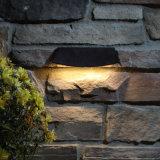 Luzes da parede de retenção IP67, luzes ao ar livre da escada, iluminação do diodo emissor de luz Hardscape