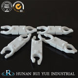 China proveedor de alúmina de gran pureza de piezas de fundición de cerámica con esmalte