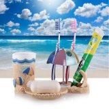 Producten van de Waren van het huis de Sanitaire met Strand van het Zand van de Hand het Verf Gegraveerde