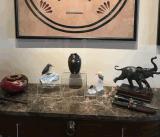 De duidelijke AcrylStootborden van de Kubus met Holle Bodems