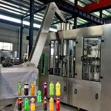 Sprankelende Dranken in Plastic Flessenspoelen die en 3 vullen afdekken in-1 Machine