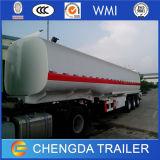 반 석유 유조선 3 차축 연료 탱크 트레일러