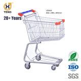 Nós210A Zincado e revestimento a pó Grande Capacidade Carrinho de Compras de supermercado