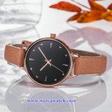Bracelet en cuir OEM Lady Wist quartz watch, Mesdames Montres (WY-17028A)