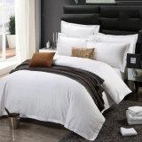 100%年の綿の明白な染められたサテンのホテルの寝具(JRC265)
